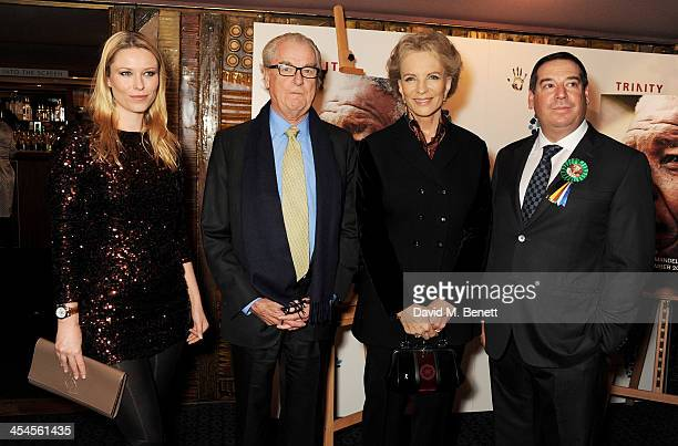 Kiera Chaplin Lord Tim Bell Princess Michael of Kent and Ivor Ichikowitz attend a special screening of 'Plot for Peace' at The Curzon Mayfair on...