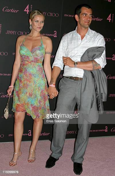 Kiera Chaplin with her boyfriend Count Ale De Basseville