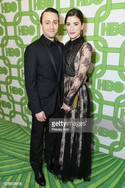 Kieran Culkin and Jazz Charton attend HBO's Official Golden Globe Awards After Party at Circa 55 Restaurant on January 6 2019 in Los Angeles...