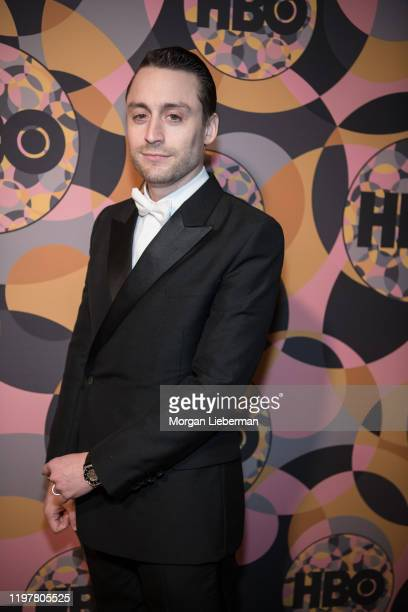 Kieran Culkin arrives at HBO's Official Golden Globes After Party at Circa 55 Restaurant on January 05 2020 in Los Angeles California