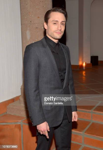Kieran Culkin attends a private dinner hosted by GQ and Dior in celebration of the 2018 GQ Men Of The Year Party on December 06 2018 in Los Angeles...