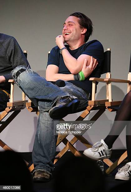 Kieran Culkin attends Apple Store Soho Presents Meet the Cast Michael Cera Kieran Culkin and Tavi Gevinson This Is Our Youth at Apple Store Soho on...