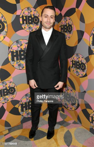 Kieran Culkin attends HBO's Official Golden Globes After Party at Circa 55 Restaurant on January 05 2020 in Los Angeles California