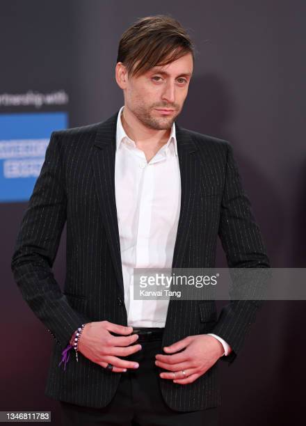 """Kieran Culkin attends the """"Succession"""" European Premiere during the 65th BFI London Film Festival at The Royal Festival Hall on October 15, 2021 in..."""