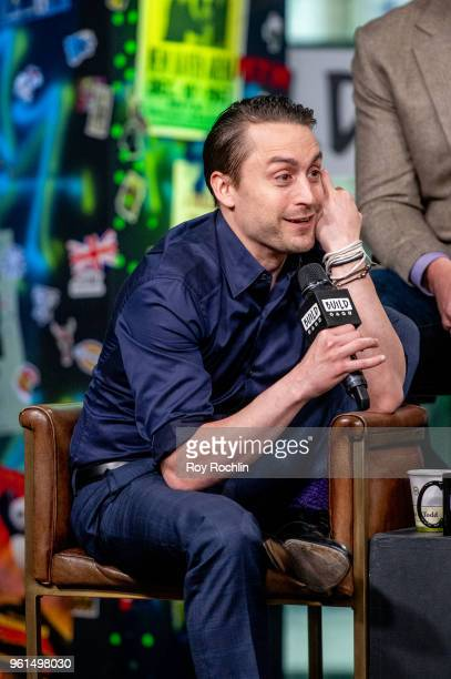 Kieran Culkin discusses 'Succession' with the Build Series at Build Studio on May 22 2018 in New York City
