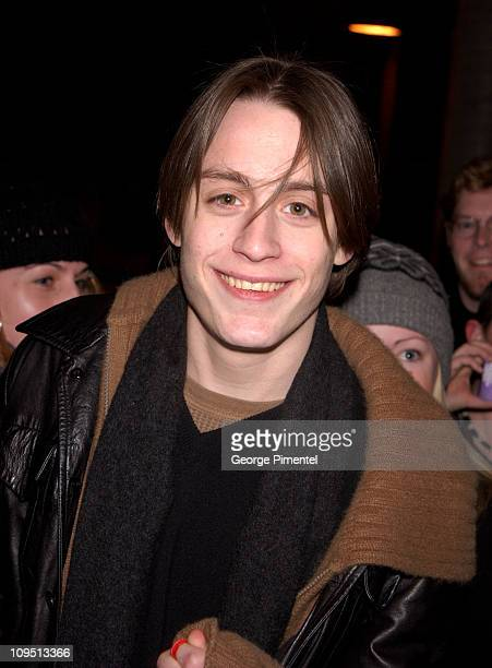 Kieran Culkin during 2002 Sundance Film Festival Dangerous Lives Of Altar Boys Premiere at Eccles Center For The Performing Arts in Park City Utah...