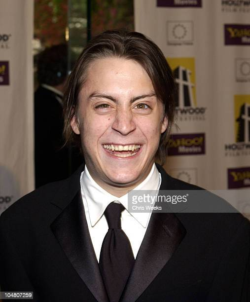 Kieran Culkin during Hollywood Film Festival's Gala Ceremony at The Beverly Hilton Hotel in Beverly Hills California United States