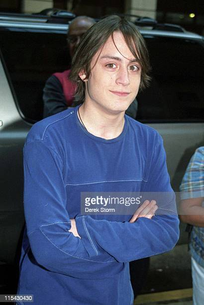 Kieran Culkin during Kieran Culkin appears on Good Morning America September 19 2002 at Times Square in New York City New York United States