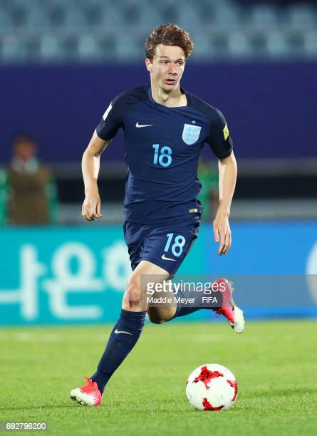 Kieran Dowell of England in action during the FIFA U20 World Cup Korea Republic 2017 Quarter Final match between Mexico and England at Cheonan...