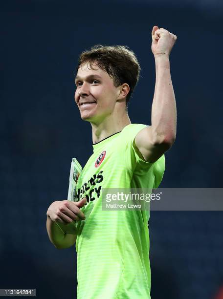 Kieran Dowell of Sheffield United celebrates his teams win during the Sky Bet Championship match between West Bromwich Albion and Sheffield United at...