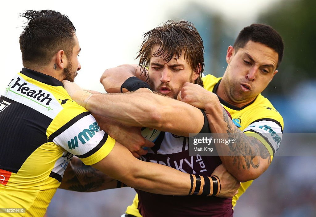 NRL Rd 26 - Sharks v Sea Eagles