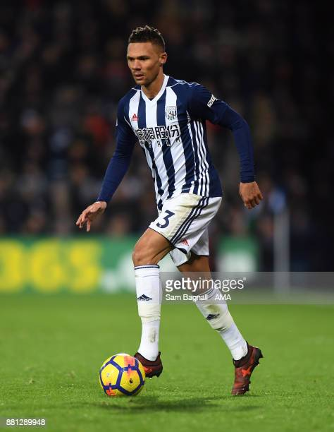Kieran Gibbs of West Bromwich Albion during the Premier League match between West Bromwich Albion and Newcastle United at The Hawthorns on November...