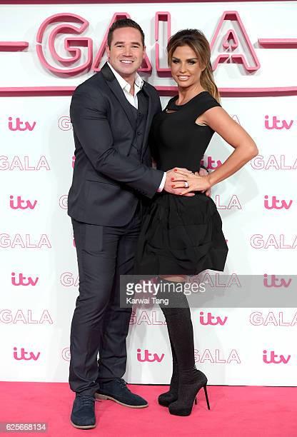Kieran Hayler and Katie Price attend the ITV Gala at London Palladium on November 24 2016 in London England