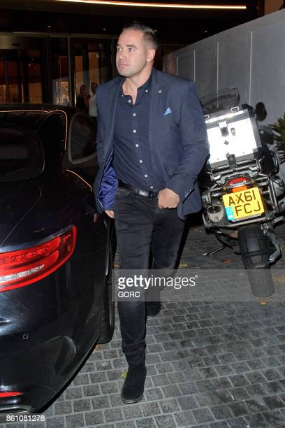 Kieran Hayler leaving the Lancaster Gate hotel on October 13 2017 in London England