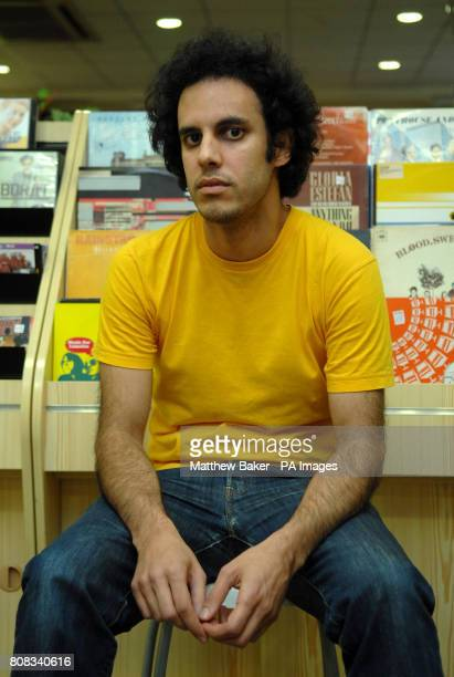 Kieran Hebden aka Four Tet before performing at the Oxjam Festival in Dalston north east London