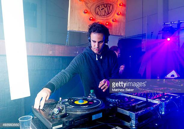 Kieran Hebden aka Four Tet performs at 'The Common Good And NTS Presents In Aid Of Syria Relief UK' at Styx on October 23 2015 in London England