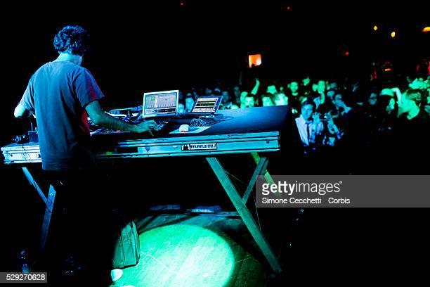 Kieran Hebden/Four Tet perform in Rome