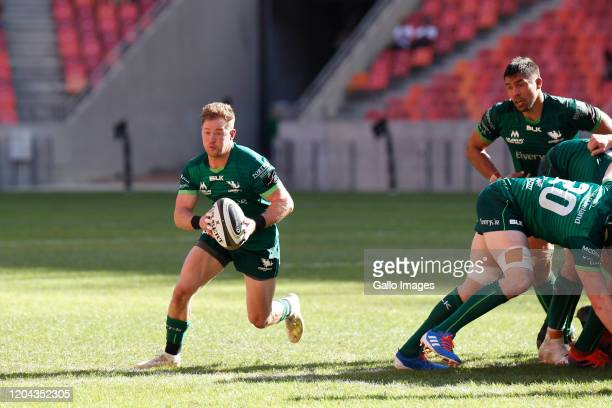 Kieran Marmion of Connacht during the Guinness Pro14 match between Isuzu Southern Kings and Connacht Rugby at Nelson Mandela Bay Stadium on March 01,...