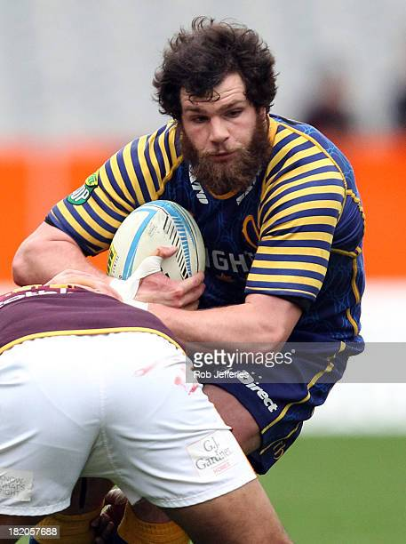 Kieran Moffat of Otago during the round seven ITM Cup match between Otago and Southland at Forsyth Barr Stadium on September 28 2013 in Dunedin New...