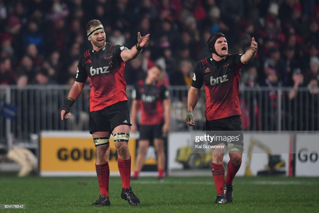 Super Rugby Semi Final - Crusaders v Chiefs