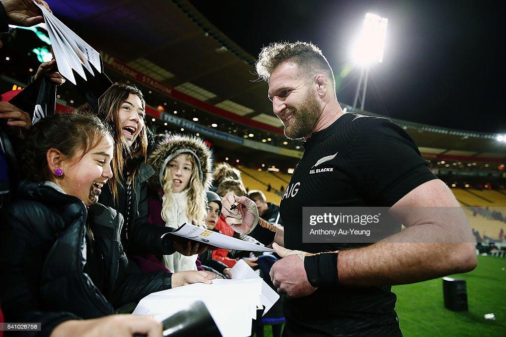 New Zealand v Wales : News Photo