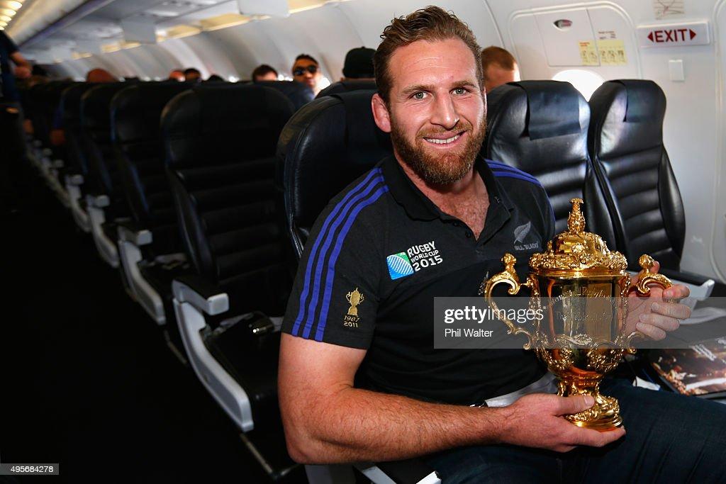 New Zealand All Blacks Welcome Home Celebrations : News Photo