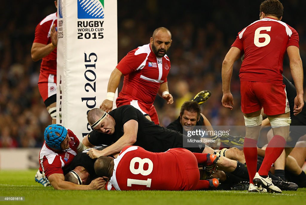 New Zealand v Georgia - Group C: Rugby World Cup 2015 : News Photo