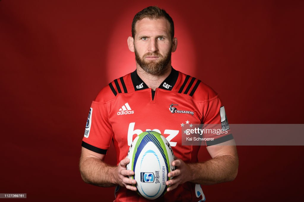 Crusaders Super Rugby 2019 Headshots Session : News Photo
