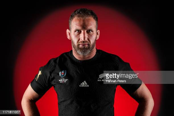 Kieran Read poses for a portrait on August 29, 2019 in Auckland, New Zealand.