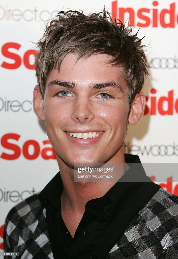Kieran Richardson attends the launch party of The 2008 Inside Soap Awards at Great John Street Hotel on July 14, 2008 in Manchester, England.