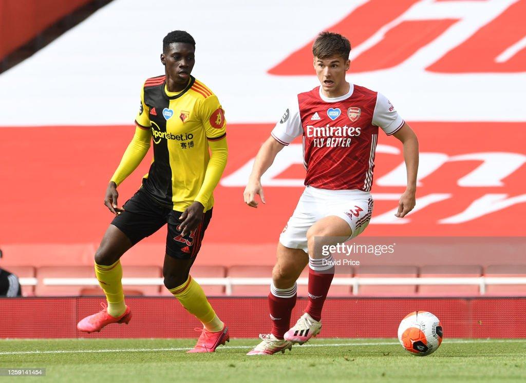 Arsenal FC v Watford FC - Premier League : News Photo