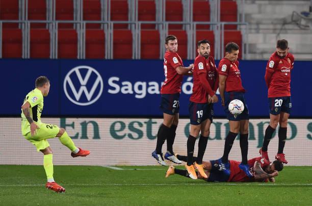 ESP: C.A. Osasuna v Atletico de Madrid - La Liga Santander