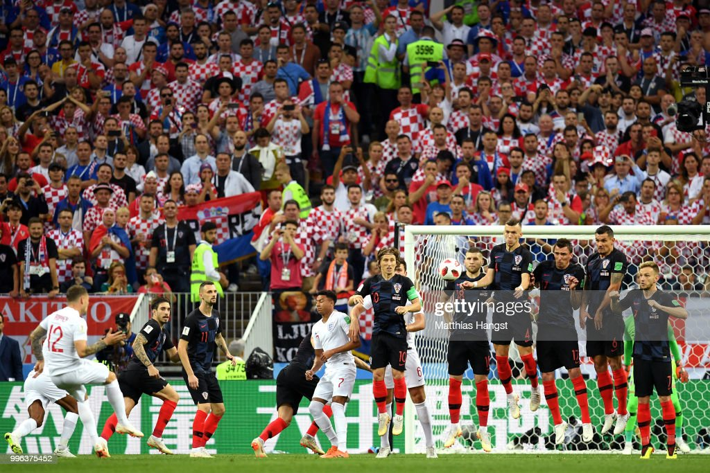 England v Croatia: Semi Final - 2018 FIFA World Cup Russia : News Photo