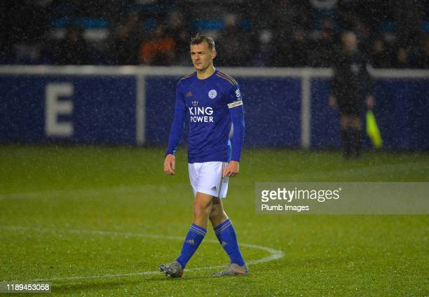 Kiernan DewsburyHall of Leicester City during the Leicester City U23 v Villarreal B PL International Cup at Holmes Park on December 18th 2019 in...