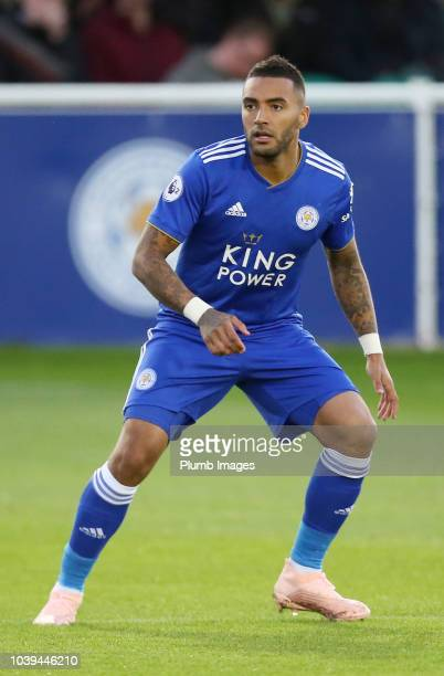 Kiernan DewsburyHall of Leicester City during the Premier League 2 match between Leicester City and Brighton and Hove Albion at Holmes Park on...