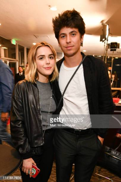 Kiernan Shipka and Charlie Oldman attend the Zeitgeist Films and Kino Lorber present Los Angeles Premiere of Be Natural The Untold Story of Alice...