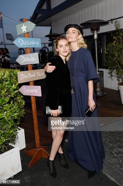Kiernan Shipka and Jaime King attend Christian Dior Cruise 2018 Welcome Dinner at Gladstone's Malibu on May 10 2017 in Malibu California
