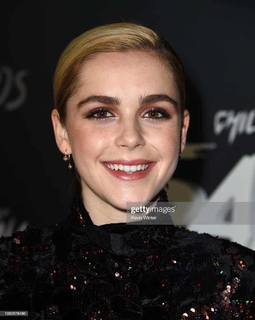 "Premiere Of Netflix's ""Chilling Adventures Of Sabrina"" - Red Carpet : News Photo"