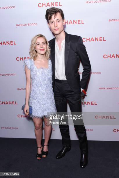 Kiernan Shipka attends Chanel Party to Celebrate the Chanel Beauty House and @WELOVECOCO on February 28 2018 in Los Angeles California