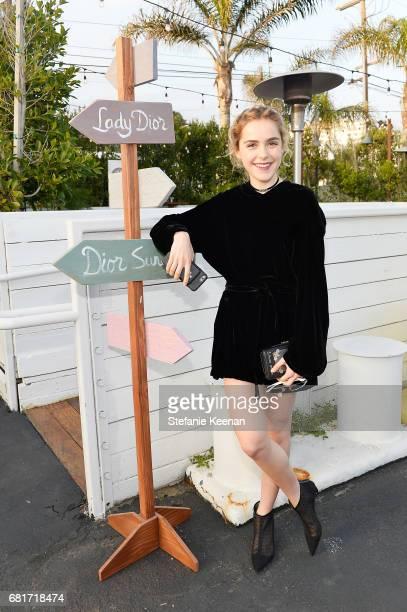 Kiernan Shipka attends Christian Dior Cruise 2018 Welcome Dinner at Gladstone's Malibu on May 10 2017 in Malibu California