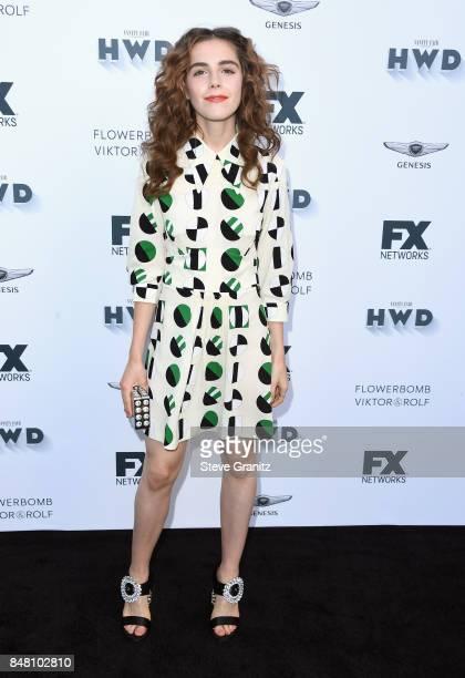 Kiernan Shipka attends FX and Vanity Fair Emmy Celebration at Craft on September 16 2017 in Century City California
