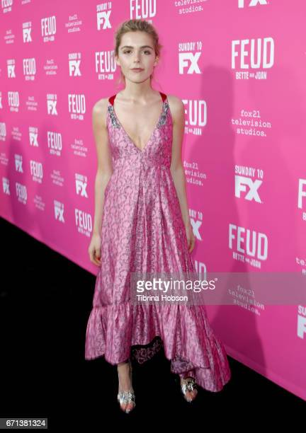 Kiernan Shipka attends FX's 'Feud Bette And Joan' FYC event at The Wilshire Ebell Theatre on April 21 2017 in Los Angeles California