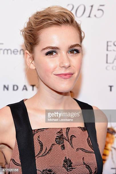 Kiernan Shipka attends the 2015 Fragrance Foundation Awards at Alice Tully Hall at Lincoln Center on June 17 2015 in New York City