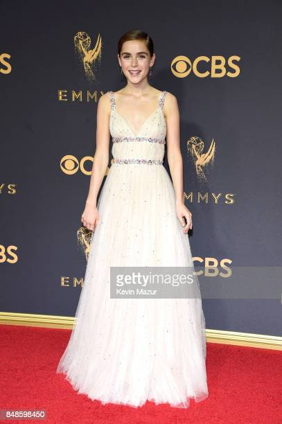 Kiernan Shipka attends the 69th Annual Primetime Emmy Awards at Microsoft Theater on September 17 2017 in Los Angeles California