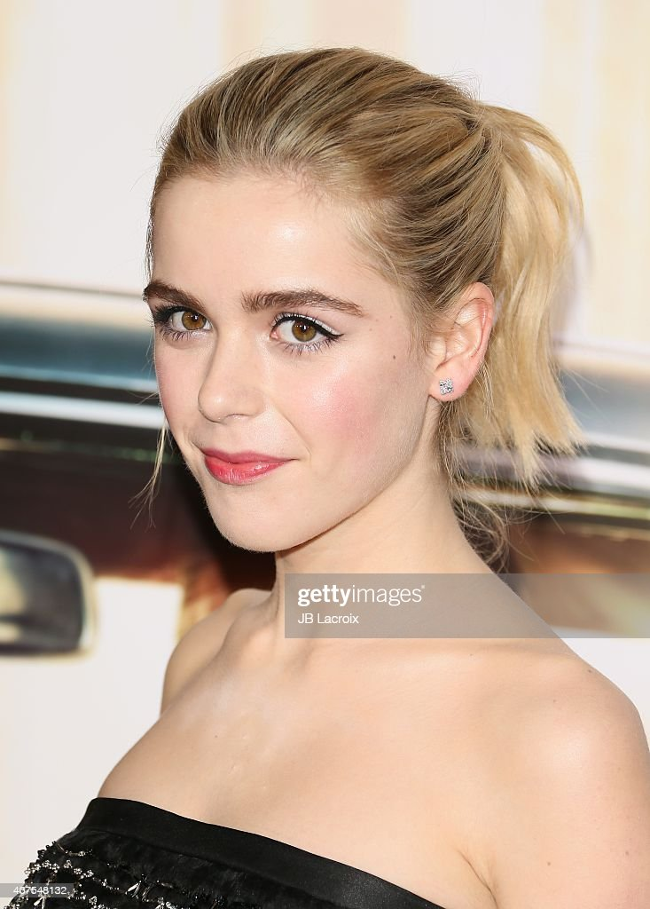 Kiernan Shipka attends the AMC celebration of the final 7 episodes of 'Mad Men' with the Black & Red Ball at the Dorothy Chandler Pavilion on March 25, 2015 in Los Angeles, California.