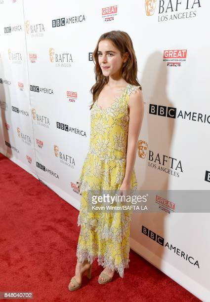 Kiernan Shipka attends the BBC America BAFTA Los Angeles TV Tea Party 2017 at The Beverly Hilton Hotel on September 16 2017 in Beverly Hills...