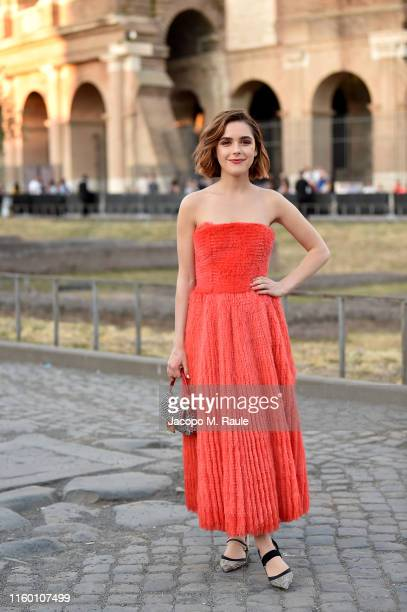 Kiernan Shipka attends the Cocktail at Fendi Couture Fall Winter 2019/2020 on July 04 2019 in Rome Italy