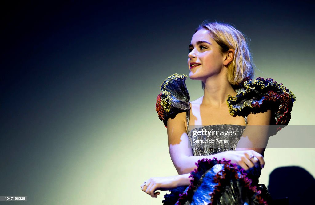 Q & A Press And Audience of Netflixs 'Chilling Adventures of Sabrina' At Sitges Film Festival 2018 : News Photo
