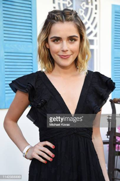 Kiernan Shipka attends The Zoe Report's 5th Annual ZOEasis at The Parker Hotel on April 12 2019 in Palm Springs California