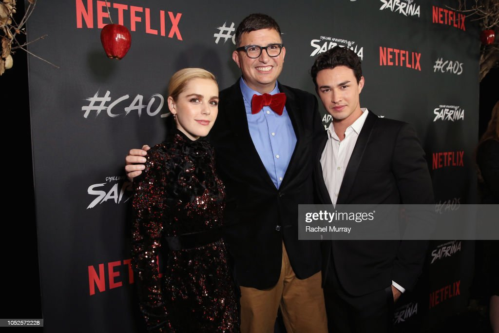 """Netflix Original Series """"Chilling Adventures of Sabrina"""" Red Carpet And Premiere Event : News Photo"""